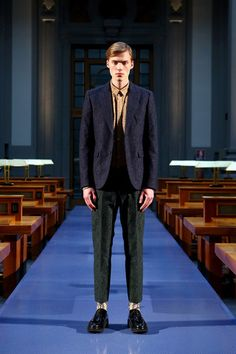 No. 21 Fall 2014 Menswear Collection Slideshow on Style.com