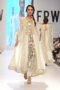 Nida Azwer Collection at Fashion Pakistan Week 2014 Day 1