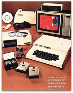 Vintage computer ad - This makes me feel OOOOOLLLLLLLDDDDD; I remember when this was new and state of the art computing!