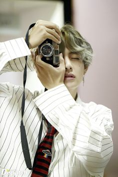I'd let Tae take pictures of me all day