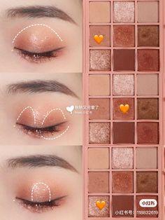 Soft Eye Makeup, Asian Eye Makeup, Eye Makeup Steps, 3ce Makeup, Makeup Cosmetics, Beauty Makeup, Makeup Korean Style, Korean Makeup Tips, Ulzzang Makeup