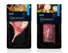 Jacobs meat packaging by Strømme Throndsen Design by genesis duncan, via Flickr