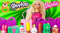 22 Shopkins con Barbie en New York - Juguetes Shopkins en español