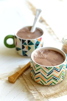 Warm yourself up on a cold winter's night with this drink recipe for chai hot chocolate! It's slightly spicy and, oh, so delicious!