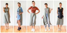 STYLE ME GRASIE » fashion & lifestyle blog by grasie mercedes » 5 ways to wear a shirt dress. Summer outfits 2016