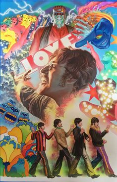 The Beatles have hired iconic comic book artist Alex Ross to create a series of paintings of the band.