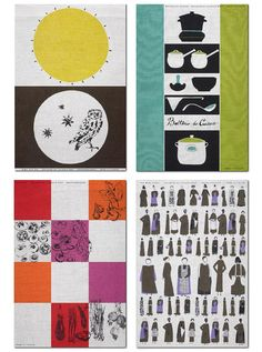 Lucienne Day tea towels