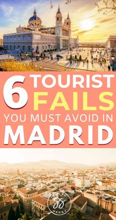 6 Common Tourist Mistakes To Avoid in Madrid - Madrid Travel Guide - Europe Travel Tips, Spain Travel, Travel Guides, Travel Destinations, Europe Packing, Traveling Europe, Backpacking Europe, Packing Lists, Travel Hacks