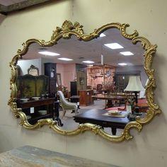 Large Italian Vintage Rococo Mirror, Shop Rubylane.com
