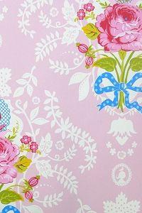 PiP Shabby Chic Pink wallpaper