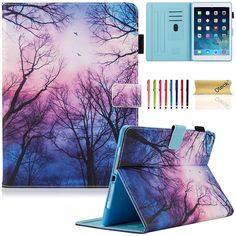 Cute Forest Night iPad Case - Ipad Mini - Ideas of Ipad Mini - Cute Forest Night Tablet Case for iPad Mini Kindle fire samsung galaxy tabs Cute Ipad Cases, Ipad Mini Cases, Ipad Air Case, Cool Cases, Samsung Galaxy, Kindle Case, Girly, New Ipad, Ideas