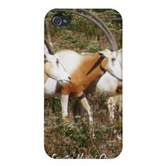 Scimitar Horned Oryx iPhone 4 Speck Case Case For iPhone 4 gazelle