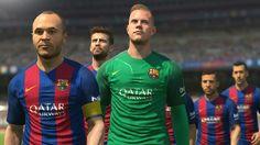 Jogo Xbox One Pro Evolution Soccer 2017 Konami Camp Nou, Pro Evolution Soccer 2017, Riot Points, Fifa 17, Trailer, Football Fans, League Of Legends, Xbox 360, Athlete