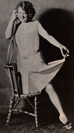 Tennis Star ☆ Clara Bow ☆ Original 1929 photograph 7c3fa65d5