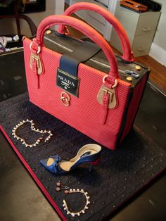 Getty Images Prada Bag Cakes Very Easily Simple Sheet Cake That I Sandwiched