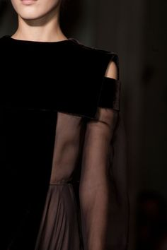 Valentino at Couture Fall 2013 - StyleBistro