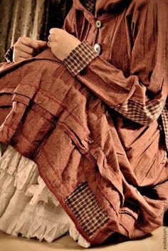 Платья ручной работы. Ярмарка Мастеров - ручная работа. Купить ОДЕЖДА ДЛЯ СВОБОДНЫХ НАТУР. Handmade. Тёмно-серый