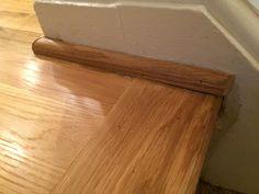 Dent pattern in floorboards (6)