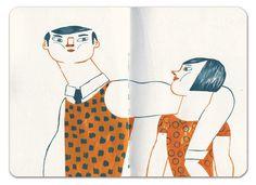 Sketchbooks by Mar Hernandez, via Behance