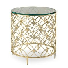 Caracole con-sidtab-017  Bubbly Accent Table available at Hickory Park Furniture Galleries