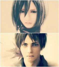 attack on titan cosplay Om goodness!! so good!!!