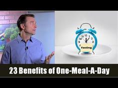23 Benefits of OMAD (One Meal a Day) Intermittent Fasting - YouTube