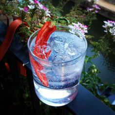 Last week a PR sent me a bottle of Opihr Gin, a London Dry gin that's made with botanicals from the spice route. It arrived in a hessian sack filled with a few of the 10 botanicals, which include c...