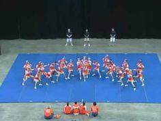 Mauldin High School Cheerleading 05-06 at STATE