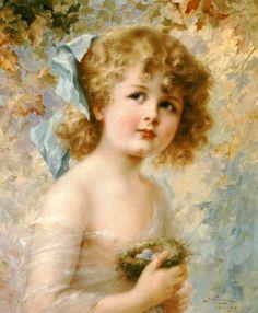 Эмиль Вернон (Emile Vernon). Дети
