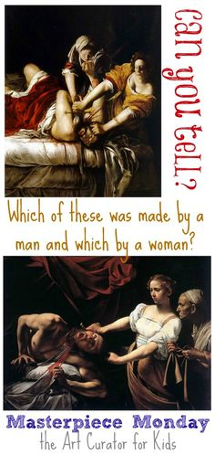 Learn about 2 Baroque paintings in this art lesson on Judith Beheading Holofernes by Artemisia Gentileschi & Caravaggio. Which was by a man & which a woman?