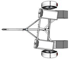 Full introduction to building a Tow dolly trailer from start to finish. Full, free detailed drawings, sketches and diagrams to help you build your own tow dolly trailer. Trailer Dolly, Work Trailer, Trailer Plans, Trailer Build, Utility Trailer, Car Hauler Trailer, Atv Trailers, Dump Trailers, Custom Trailers