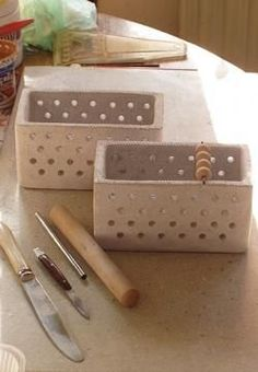 Making of a Bead Box-- Click the pic for A Tutorial by Ceramic Bead Artist Golem Design Studio