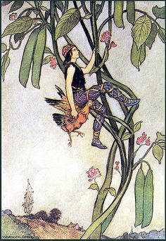 Warwick Goble--Jack and the Beanstalk