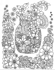 Zendoodle Coloring: Your Coloring Set: 50 Patterns You Would Love to Color Right Away coloring book by Lucie Ann Cole