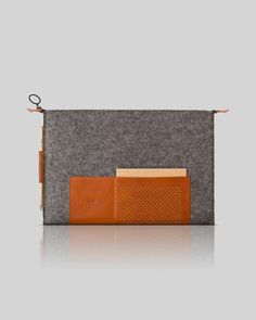 Sweet Mixed-Material Sleeves : Ostfold 698 MacBook Case