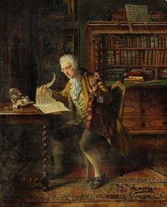The Music Lover - Johann Hamza - The Athenaeum