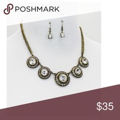 Set Statement Necklace & Earrings New Brand New zdazzled Jewelry Necklaces