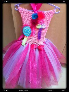 Candy land tutu dress