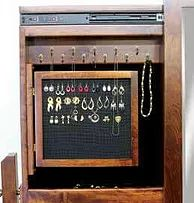 Add An Earring Door To Our Jewelry Chevals|50+ Ways To Personalize Your  Amish · Hardwood FurnitureAmish FurniturePittsburgh
