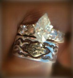 Image Result For Harley Davidson Wedding Rings