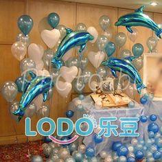 Birthday Balloon decoration   ... bollons+belts romantic wedding balloons decoration set party balloons
