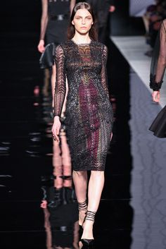 Etro Fall 2012 Ready-to-Wear Fashion Show - Karlina Caune