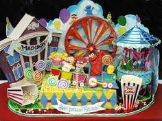 Amusement-park-cake!!!!!!