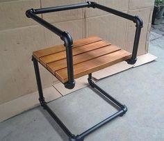 Desain kursi minimalis menggunakan pipa besi bekas ~ Teknologi Konstruksi Arsitektur