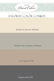 Favorite Paint Colors: Gray and Beige Color Combination