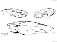 BMW Vision Next 100 Concept Exterior design : Seungmo Lim  Interior Design: Sebastian Kroes, Henri von Freyberg