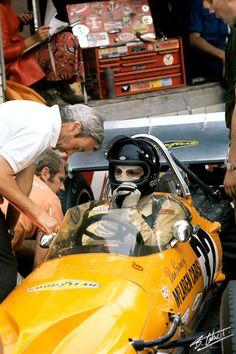 Gurney 1970 France McLaren M14A