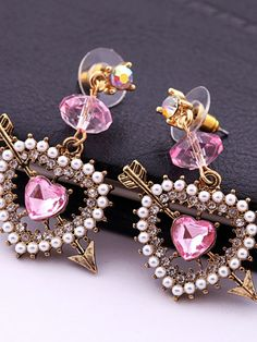 arrow of cupid earrings more heart shap earrings johnson cupid ...