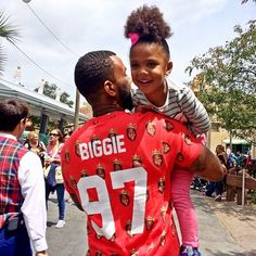 the Game and his baby girl <3