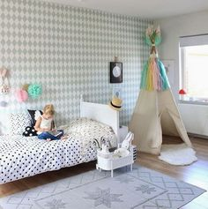 the boo and the boy: eclectic kids' rooms from instagram